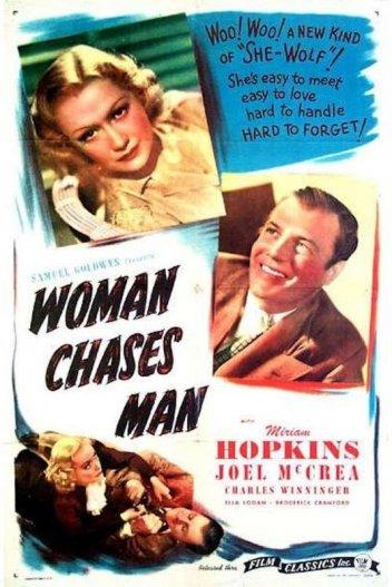 Woman Chases Man: Miriam Hopkins and Joel McCrea