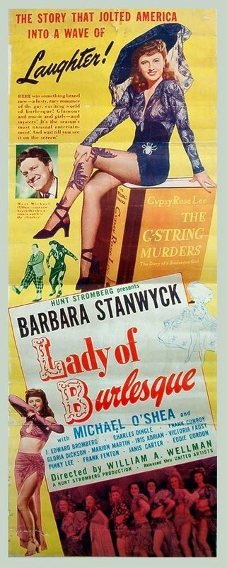 Lady of Burlesque: Barbara Stanwyck